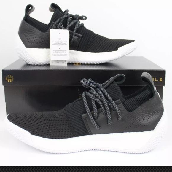 newest collection 67b57 8a26a ❌⭕️Sold❌⭕️Adidas Men James Harden LS Volume 2 Blac
